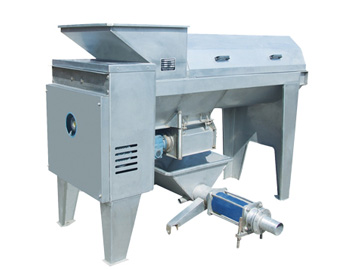 Stainless steel grape crusher and stem remove machine