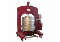 Ice grape press