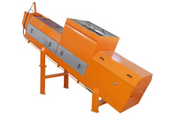 Single dewatering screw press